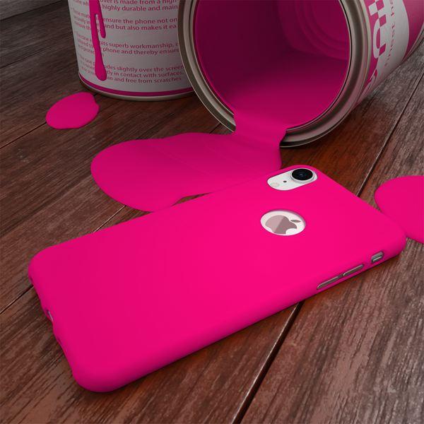 NALIA Handyhülle für Apple iPhone XR, Ultra-Slim TPU Hülle Silikon Neon Case, Dünnes Cover Gummi Schutzhülle Skin, Etui Handy-Tasche Backcover Bumper für i-Phone XR Smartphone – Bild 14