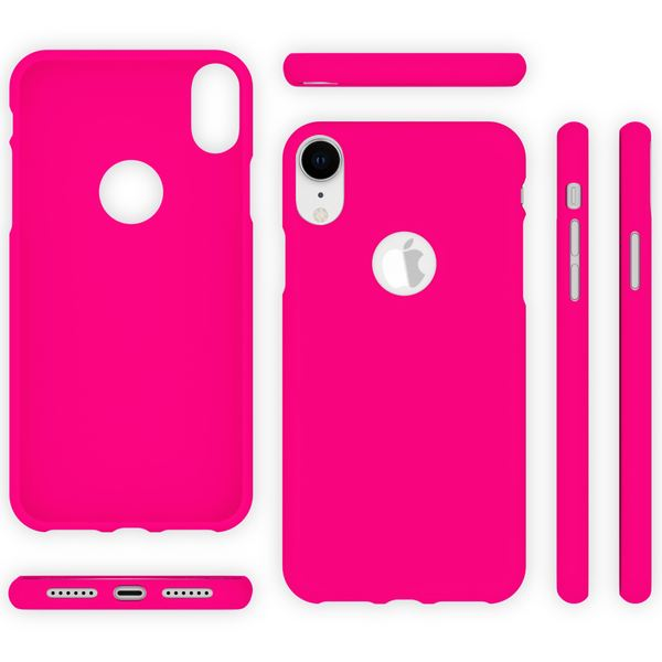 NALIA Handyhülle für Apple iPhone XR, Ultra-Slim TPU Hülle Silikon Neon Case, Dünnes Cover Gummi Schutzhülle Skin, Etui Handy-Tasche Backcover Bumper für i-Phone XR Smartphone – Bild 15