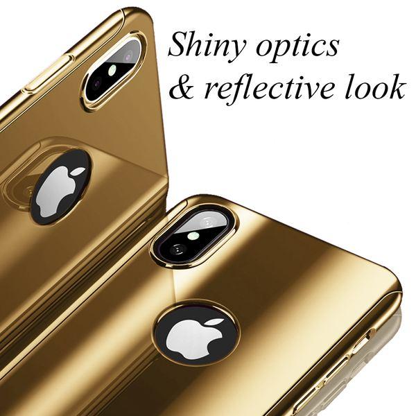 NALIA 360 Grad Handyhülle kompatibel mit Apple iPhone X XS, Full-Cover & Schutzglas vorne hinten Hülle Doppel-Schutz Dünn Ganzkörper Case Etui Handy-Tasche, Bumper & Displayschutz – Bild 24