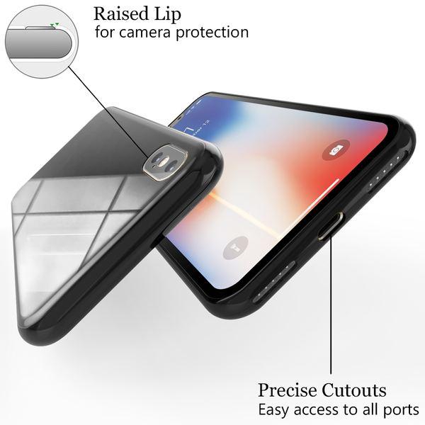NALIA Magnetische 360° Glas Hülle kompatibel mit iPhone XS Max, Ultra-Slim Hard-Case Dünnes Hartglas Back-Cover mit Rahmen & Display-Schutz, Full-Body Schutzhülle Bumper Handy-Tasche – Bild 17