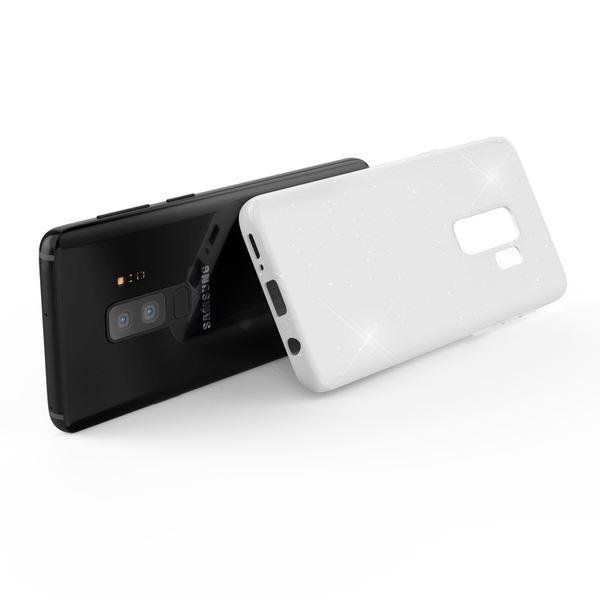 NALIA Glitzer Hülle kompatibel mit Samsung Galaxy S9 Plus, Schimmernde Ultra-Slim Silikon Handyhülle Cover Glitter Schutzhülle Dünnes Case Etui Handy-Tasche Bumper Phone Skin Backcover – Bild 10