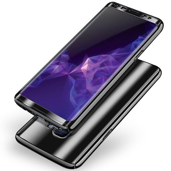 NALIA 360 Grad Handyhülle kompatibel mit Samsung Galaxy S9, Full-Cover & Schutzfolie vorne hinten Hülle Doppel-Schutz, Dünn Ganzkörper Case Etui Handy-Tasche, Bumper & Displayschutz – Bild 6
