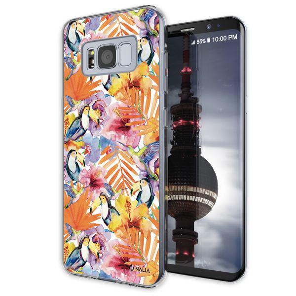 NALIA Handyhülle kompatibel mit Samsung Galaxy S8, Slim Silikon Hülle Motiv Case Cover Crystal Schutzhülle, Durchsichtig Etui Handy-Tasche Backcover Transparent Bumper – Bild 23