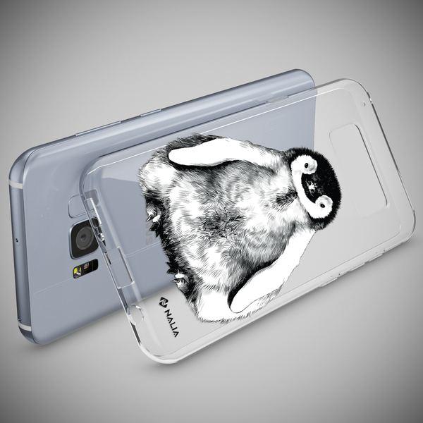 NALIA Handyhülle kompatibel mit Samsung Galaxy S8, Slim Silikon Hülle Motiv Case Cover Crystal Schutzhülle, Durchsichtig Etui Handy-Tasche Backcover Transparent Bumper – Bild 21