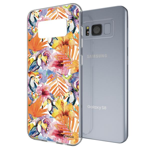 NALIA Handyhülle kompatibel mit Samsung Galaxy S8, Slim Silikon Hülle Motiv Case Cover Crystal Schutzhülle, Durchsichtig Etui Handy-Tasche Backcover Transparent Bumper – Bild 25