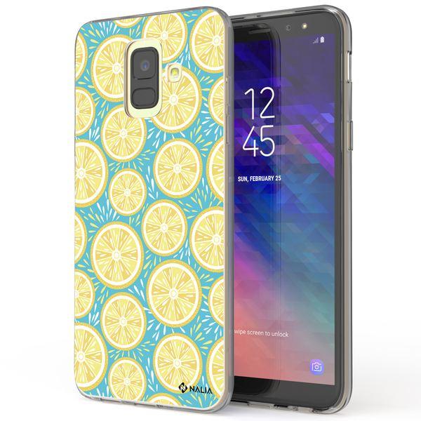 NALIA Handyhülle kompatibel mit Samsung Galaxy A6, Ultra-Slim Silikon Hülle Motiv Case Cover Schutzhülle, Dünn Etui Handy-Tasche Bumper Backcover Transparent Bumper – Bild 19