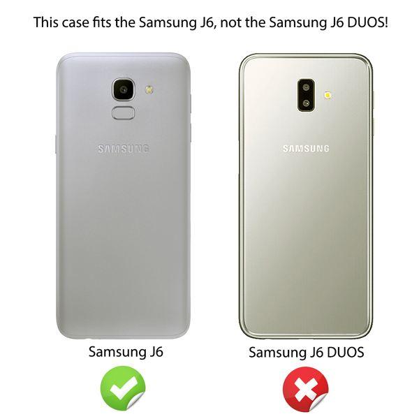 NALIA Ring Hülle kompatibel mit Samsung Galaxy J6, Schutzhülle Cover magnetische Silikon Handyhülle für KFZ-Halterung 360-Grad Finger-Halter, Case Dünn Ständer Slim Etui Bumper – Bild 5