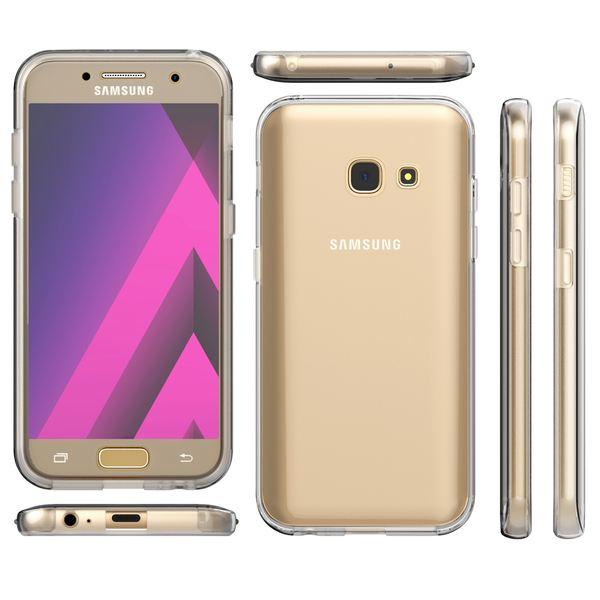 NALIA 360 Grad Handyhülle kompatibel mit Samsung Galaxy A5 2017, Full-Cover Silikon Bumper mit Displayschutz vorne Hardcase hinten, Hülle Doppel-Schutz Dünn Case Handy-Tasche – Bild 13