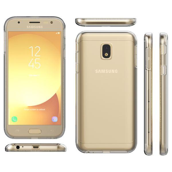 NALIA 360 Grad Handyhülle kompatibel mit Samsung Galaxy J3 2017, Full-Cover Silikon Bumper mit Displayschutz vorne Hardcase hinten, Hülle Doppel-Schutz Dünn Case Handy-Tasche – Bild 13
