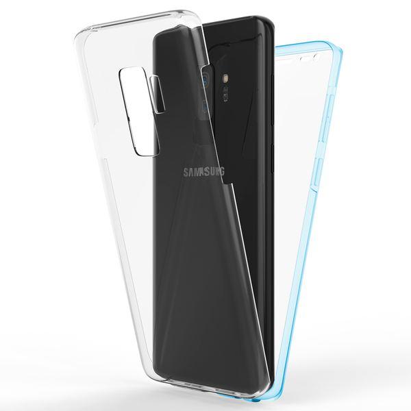 NALIA 360 Grad Hülle kompatibel mit Samsung Galaxy S9 Plus, Full-Cover Silikon Bumper mit Displayschutz vorne Hard-Case hinten, Rundum Handyhülle Doppel-Schutz, Dünne Handy-Tasche – Bild 23