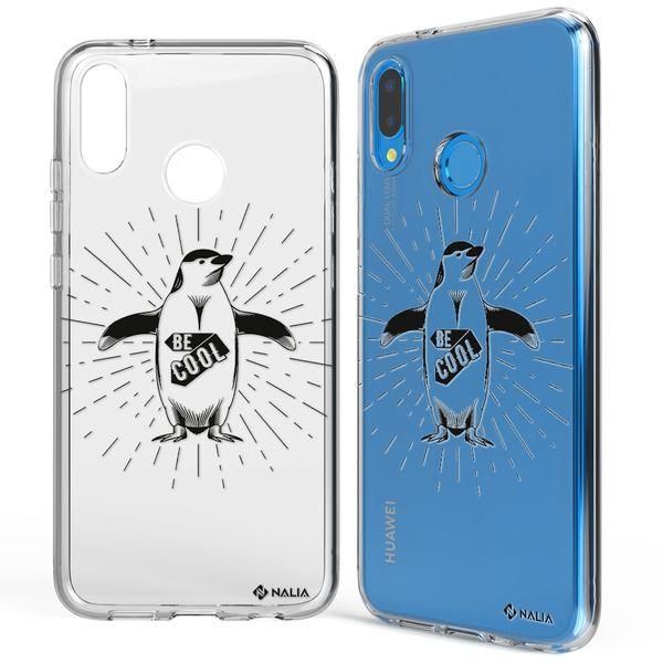 NALIA Handyhülle kompatibel mit Huawei P20 Lite, Slim Silikon Hülle Motiv Case Cover Crystal Schutzhülle, Durchsichtig Etui Handy-Tasche Backcover Transparent Bumper – Bild 8