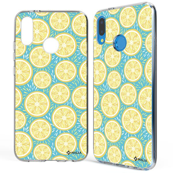 NALIA Handyhülle kompatibel mit Huawei P20 Lite, Slim Silikon Hülle Motiv Case Cover Crystal Schutzhülle, Durchsichtig Etui Handy-Tasche Backcover Transparent Bumper – Bild 17