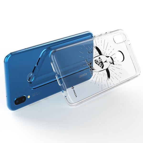 NALIA Handyhülle kompatibel mit Huawei P20 Lite, Slim Silikon Hülle Motiv Case Cover Crystal Schutzhülle, Durchsichtig Etui Handy-Tasche Backcover Transparent Bumper – Bild 9