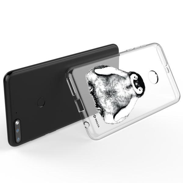 NALIA Handyhülle kompatibel mit Huawei Y7 (2018), Ultra-Slim Silikon Hülle Motiv Case Cover Crystal Schutzhülle, Durchsichtig Etui Handy-Tasche Backcover Transparent Bumper – Bild 21