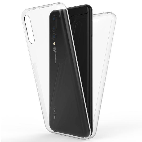 NALIA 360 Grad Handyhülle kompatibel mit Huawei P20 Pro, Full-Cover Silikon Bumper mit Displayschutz vorne Hardcase hinten, Hülle Doppel-Schutz, Dünn Ganzkörper Case Handy-Tasche – Bild 2
