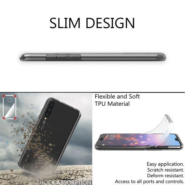 NALIA 360 Grad Handyhülle kompatibel mit Huawei P20 Pro, Full-Cover Silikon Bumper mit Displayschutz vorne Hardcase hinten, Hülle Doppel-Schutz, Dünn Ganzkörper Case Handy-Tasche – Bild 18