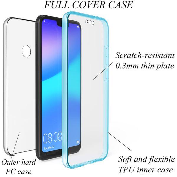 NALIA 360 Grad Handyhülle kompatibel mit Huawei P20 Lite, Full-Cover Silikon Bumper mit Displayschutz vorne Hardcase hinten, Hülle Doppel-Schutz, Dünn Ganzkörper Case Handy-Tasche – Bild 21