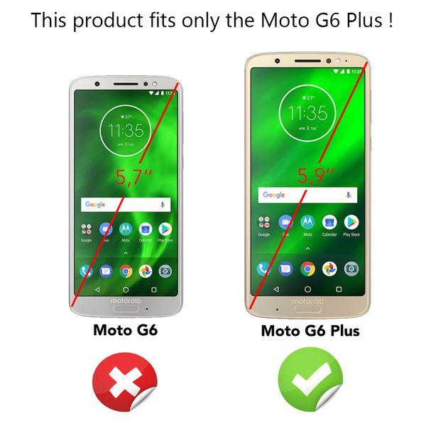 NALIA 360 Grad Handyhülle für Motorola Moto G6 Plus, Full-Cover Silikon Bumper mit Displayschutz vorne Hardcase hinten, Rundum Hülle Doppel-Schutz Dünn Ganzkörper Case Handy-Tasche – Bild 11