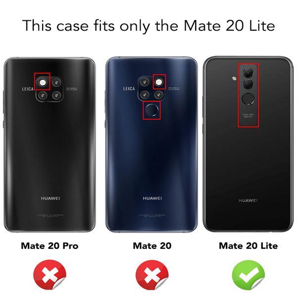 NALIA (2-Pack) Schutzglas kompatibel mit Huawei Mate 20 Lite, 9H Full-Cover Display Schutz Glas-Folie, Dünne Handy Schutzfolie Bildschirm-Abdeckung, HD Schutz-Film Protector - Transparent (schwarz) – Bild 4