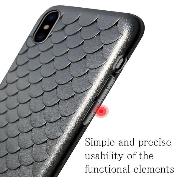 NALIA Scale Hülle kompatibel mit iPhone XS Max, Silikon Handyhülle Dünnes Cover Case, TPU Schutzhülle Handy-Tasche Ultra-Slim Bumper, Soft Skin Backcover Phone Etui – Bild 4