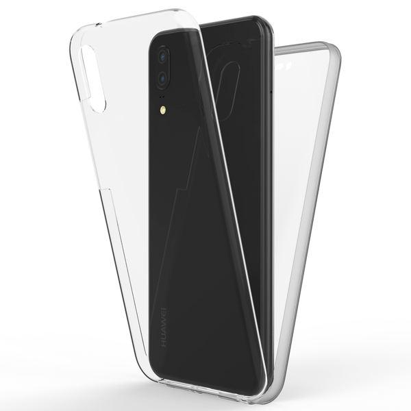 NALIA 360 Grad Handyhülle kompatibel mit Huawei P20, Full-Cover Silikon Bumper mit Displayschutz vorne Hardcase hinten, Hülle Doppel-Schutz, Dünnes Ganzkörper Case Handy-Tasche – Bild 8