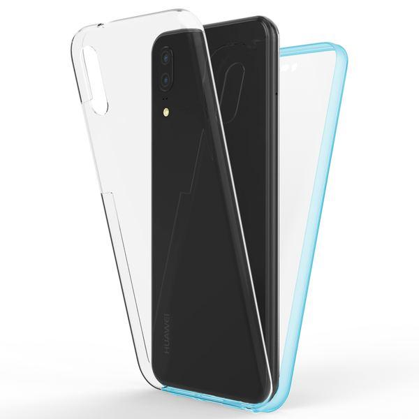 NALIA 360 Grad Handyhülle kompatibel mit Huawei P20, Full-Cover Silikon Bumper mit Displayschutz vorne Hardcase hinten, Hülle Doppel-Schutz, Dünnes Ganzkörper Case Handy-Tasche – Bild 20