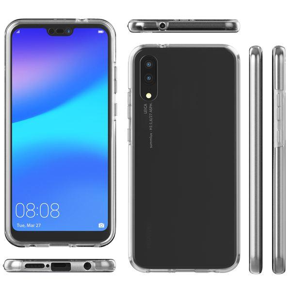 NALIA 360 Grad Handyhülle kompatibel mit Huawei P20, Full-Cover Silikon Bumper mit Displayschutz vorne Hardcase hinten, Hülle Doppel-Schutz, Dünnes Ganzkörper Case Handy-Tasche – Bild 19