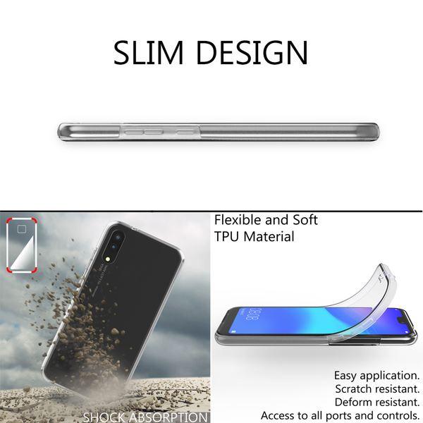 NALIA 360 Grad Handyhülle kompatibel mit Huawei P20, Full-Cover Silikon Bumper mit Displayschutz vorne Hardcase hinten, Hülle Doppel-Schutz, Dünnes Ganzkörper Case Handy-Tasche – Bild 12