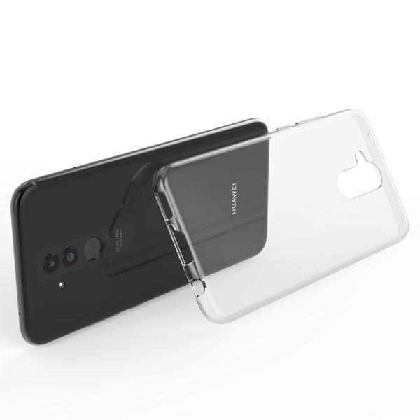 NALIA Handyhülle kompatibel mit Huawei Mate 20 Lite, Ultra-Slim TPU Silikon Case Cover Hülle Crystal Clear Schutzhülle Dünn Durchsichtig, Backcover Etui Handy Tasche Transparent, Phone Schutz Bumper – Bild 2