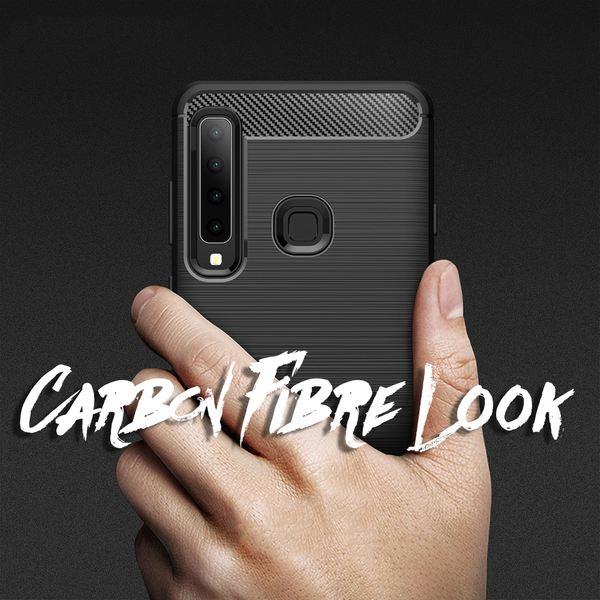 NALIA Handyhülle kompatibel mit Samsung Galaxy A9 2018, Ultra-Slim Silikon Case Cover Hülle, Dünne Phone Schutzhülle, Stoßfeste Etui Handy-Tasche Backcover Bumper, TPU Gummihülle  - Schwarz – Bild 6