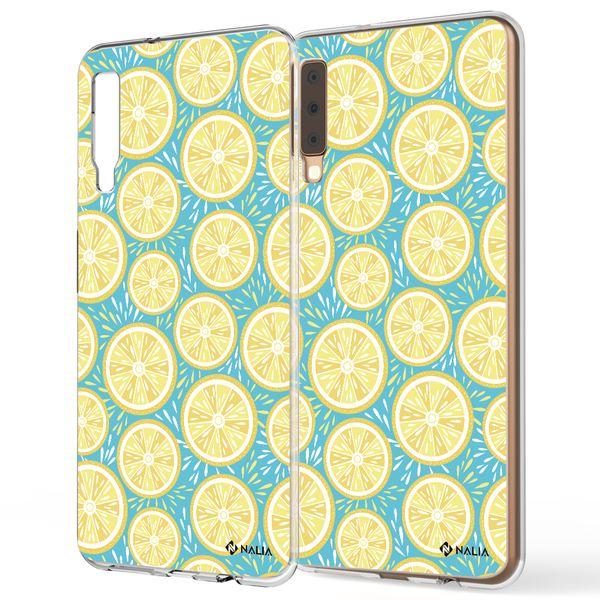 NALIA Handyhülle kompatibel mit Samsung Galaxy A7 2018, Slim Silikon Motiv Etui Case Schutzhülle Dünn Durchsichtig, Handy-Tasche Back-Cover Transparent Bumper – Bild 19