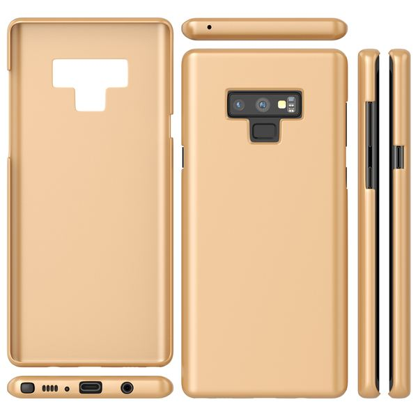 NALIA Hülle kompatibel mit Samsung Galaxy Note 9, Dünn Case Schutzhülle Hardcase Matt Handyhülle, Ultra-Slim Cover Etui leicht Handy-Tasche Ultra-Slim Smart-Phone Backcover Skin Bumper – Bild 15