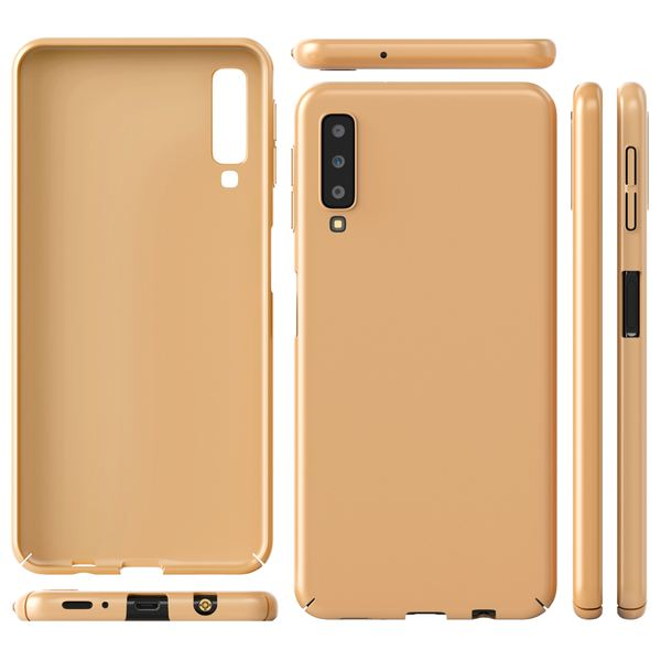 NALIA Handyhülle kompatibel mit Samsung Galaxy A7 2018, Dünnes Hard-Case Hülle Schutzhülle Matt, Ultra-Slim Cover Etui Handy-Tasche, Ultra-Slim Smart-Phone Backcover Skin Bumper – Bild 12