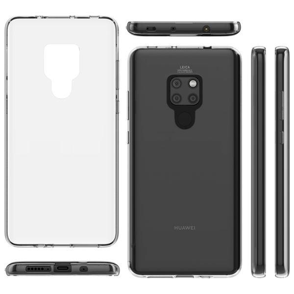 NALIA Handyhülle kompatibel mit Huawei Mate20, Hülle Soft TPU Silikon Case Cover Crystal Clear, Dünne Durchsichtige Etui Handy-Tasche Schutzhülle, Transparent Smart-Phone Cover Schutz Bumper – Bild 6