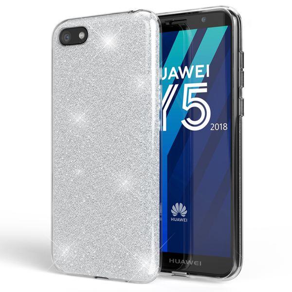 NALIA Handyhülle kompatibel mit Huawei Y5 2018, Glitzer Ultra-Slim Silikon-Case Back-Cover Schutzhülle, Glitter Sparkle Handytasche Bumper Dünnes Bling Strass Smartphone Etui – Bild 23