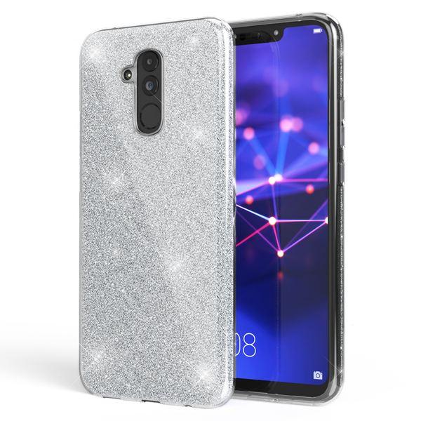 NALIA Handyhülle kompatibel mit Huawei Mate20 Lite, Glitzer Ultra-Slim Silikon-Case Back-Cover Schutzhülle, Glitter Sparkle Handytasche Bumper Dünnes Bling Strass Smartphone Etui – Bild 23