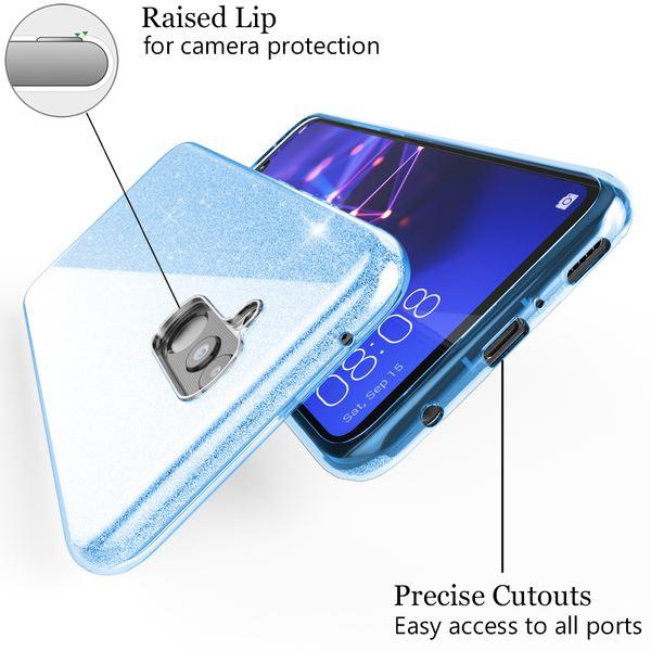 NALIA Handyhülle kompatibel mit Huawei Mate20 Lite, Glitzer Ultra-Slim Silikon-Case Back-Cover Schutzhülle, Glitter Sparkle Handytasche Bumper Dünnes Bling Strass Smartphone Etui – Bild 13