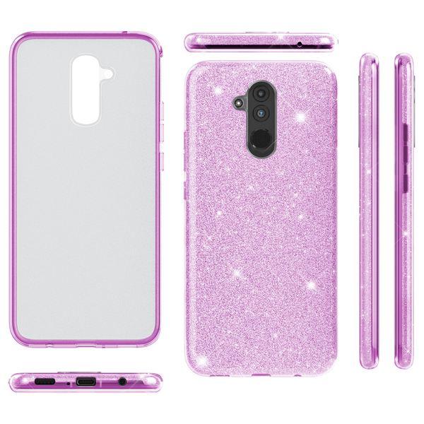 NALIA Handyhülle kompatibel mit Huawei Mate20 Lite, Glitzer Ultra-Slim Silikon-Case Back-Cover Schutzhülle, Glitter Sparkle Handytasche Bumper Dünnes Bling Strass Smartphone Etui – Bild 8