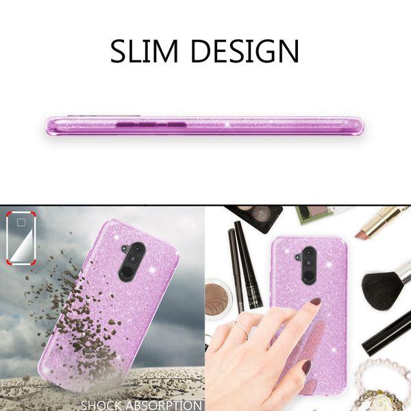 NALIA Handyhülle kompatibel mit Huawei Mate20 Lite, Glitzer Ultra-Slim Silikon-Case Back-Cover Schutzhülle, Glitter Sparkle Handytasche Bumper Dünnes Bling Strass Smartphone Etui – Bild 14