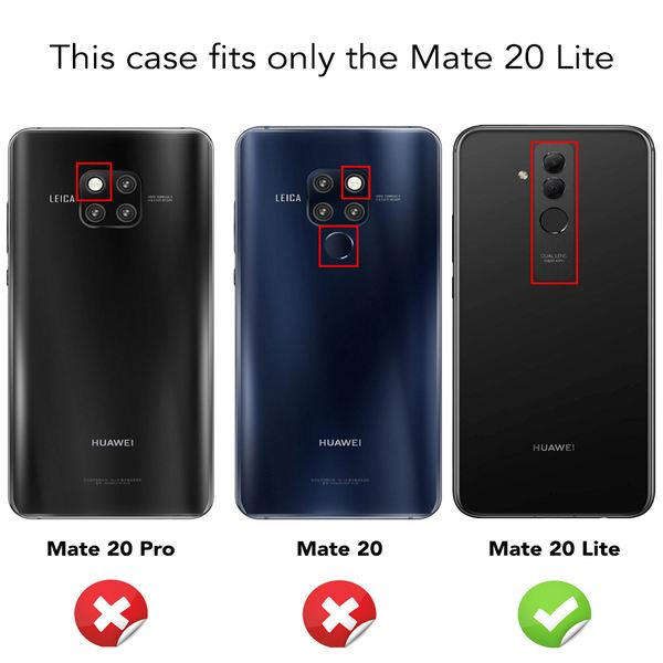 NALIA Handyhülle kompatibel mit Huawei Mate20 Lite, Glitzer Ultra-Slim Silikon-Case Back-Cover Schutzhülle, Glitter Sparkle Handytasche Bumper Dünnes Bling Strass Smartphone Etui – Bild 18