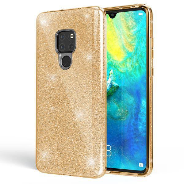 NALIA Handyhülle kompatibel mit Huawei Mate20, Glitzer Ultra-Slim Silikon-Case Back-Cover TPU Schutzhülle, Glitter Sparkle Handytasche Bumper Dünnes Bling Strass Smartphone Etui – Bild 16