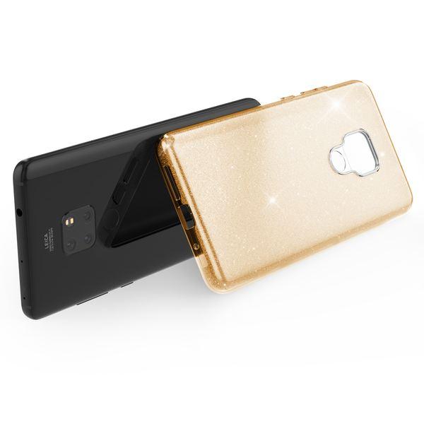 NALIA Handyhülle kompatibel mit Huawei Mate20, Glitzer Ultra-Slim Silikon-Case Back-Cover TPU Schutzhülle, Glitter Sparkle Handytasche Bumper Dünnes Bling Strass Smartphone Etui – Bild 17