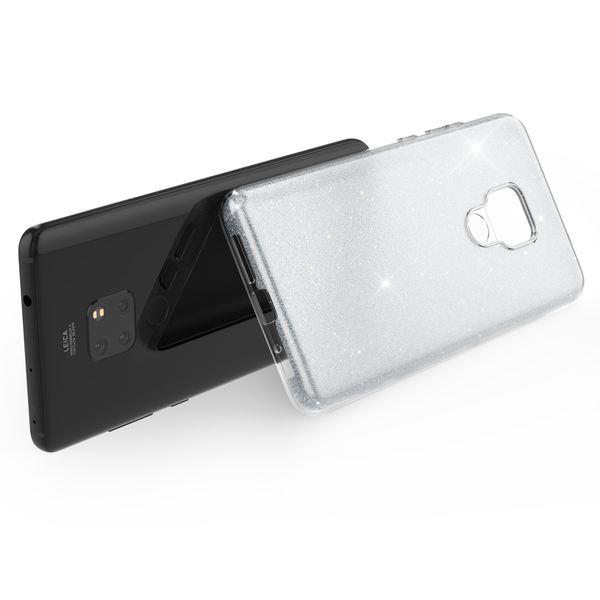 NALIA Handyhülle kompatibel mit Huawei Mate20, Glitzer Ultra-Slim Silikon-Case Back-Cover TPU Schutzhülle, Glitter Sparkle Handytasche Bumper Dünnes Bling Strass Smartphone Etui – Bild 24