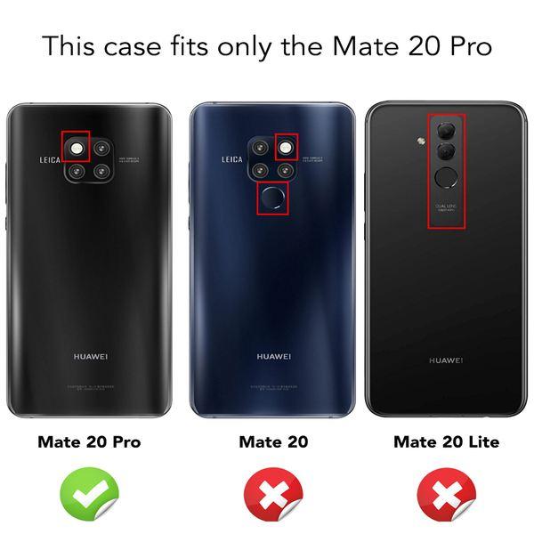NALIA Klapphülle kompatibel mit Huawei Mate20 Pro, Flip Case Kunst-Leder Handyhülle Hard Cover Etui 360 Grad Hülle, Handy-Tasche Phone Book Bumper Schutzhülle Wallet Klappbar – Bild 11