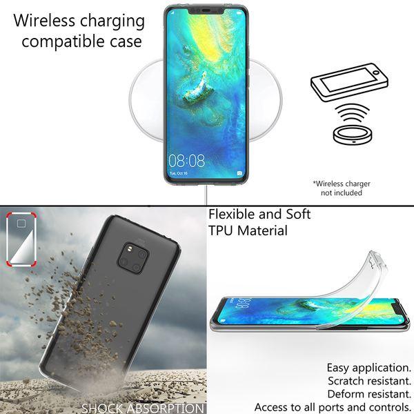 NALIA 360 Grad Handyhülle kompatibel mit Huawei Mate20 Pro, Full-Cover Silikon Bumper mit Displayschutz vorne Hardcase hinten Hülle Doppel-Schutz Dünn Ganzkörper Case Handy-Tasche – Bild 13