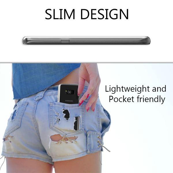 NALIA 360 Grad Handyhülle kompatibel mit Samsung Galaxy S8 Plus, Full-Cover Silikon Bumper mit Displayschutz vorne Hardcase hinten, Hülle Doppel-Schutz Dünn Case Handy-Tasche – Bild 7