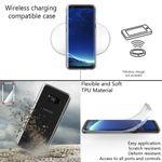 NALIA 360 Grad Handyhülle kompatibel mit Samsung Galaxy S8 Plus, Full-Cover Silikon Bumper mit Displayschutz vorne Hardcase hinten, Hülle Doppel-Schutz Dünn Case Handy-Tasche – Bild 13