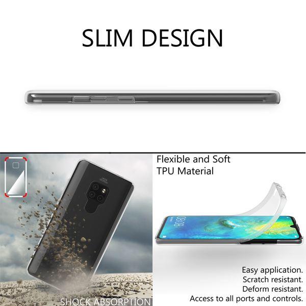 NALIA 360 Grad Handyhülle kompatibel mit Huawei Mate20, Full-Cover Silikon Bumper mit Displayschutz vorne Hardcase hinten, Hülle Doppel-Schutz, Dünn Ganzkörper Case Handy-Tasche – Bild 13