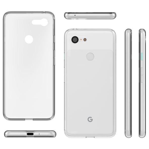 NALIA Hülle kompatibel mit Google Pixel 3, Ultra-Slim Handyhülle TPU Silikon Case Cover Crystal Clear Schutzhülle Dünn Durchsichtig, Etui Handy-Tasche Backcover Transparent Rückseite, Phone Bumper – Bild 6