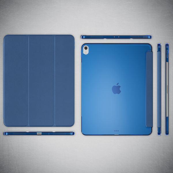 NALIA Hülle kompatibel mit iPad Pro 12,9 Zoll (2018), Ultra-Slim Dünne Tablet Smart Case Cover mit Ausschnitt für Pencil, Kunst-leder Display-Schutz Hardcase Backcover Sleeve – Bild 15